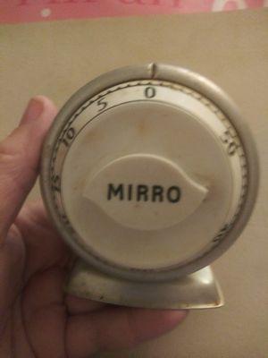 Vintage mirro kitchen timer for Sale in Pompano Beach, FL