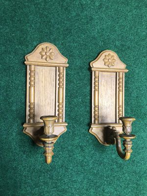 Vintage Candle Holders Wall Decor for Sale in Richmond, VA