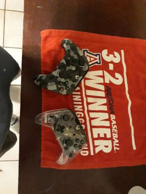 2 X box 1 remotes...35$ for both or willing to trade for ps4 remotes for Sale in Tucson, AZ