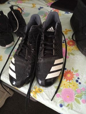 Men's Adidas cleats size 10 and 1/2 for Sale in Woonsocket, RI