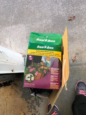 Patio watering kit for Sale in Norton, MA