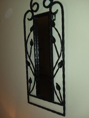 Small Black Wired Mirror for Sale in Twin Oaks, MO