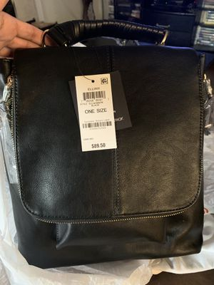 Black leather backpack/ purse for Sale in San Marcos, CA