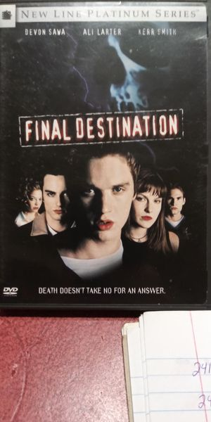 Final Destination dvd for Sale in Brainerd, MN