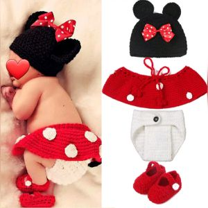 Minnie Mouse Crochet Newborn Photo Prop for Sale in Palmdale, CA