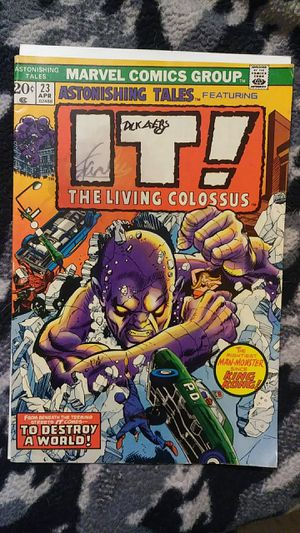 Astonishing Tales #23 Signed by Dick Ayers for Sale in Hampton, VA