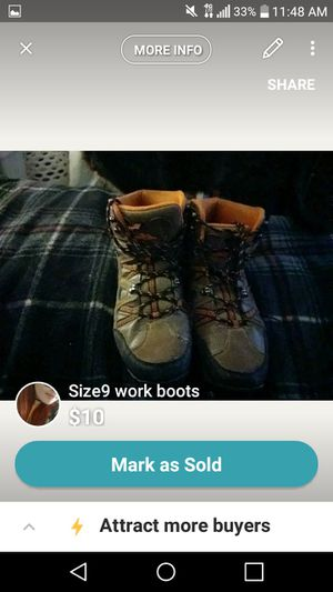 Work boots for Sale in Saint Charles, MN