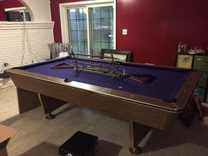 Great Pool Table - New Felt and Hardly Used for Sale in Gambrills, MD