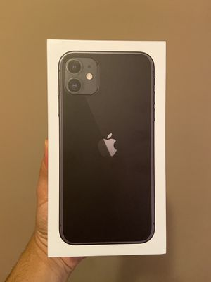 Apple iPhone 11 - 64GB - Black (Unlocked) A2111 (CDMA + GSM) for Sale in Redford Charter Township, MI