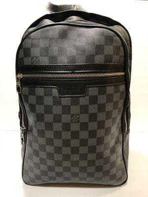 Louis V backpack black for Sale in Los Angeles, CA