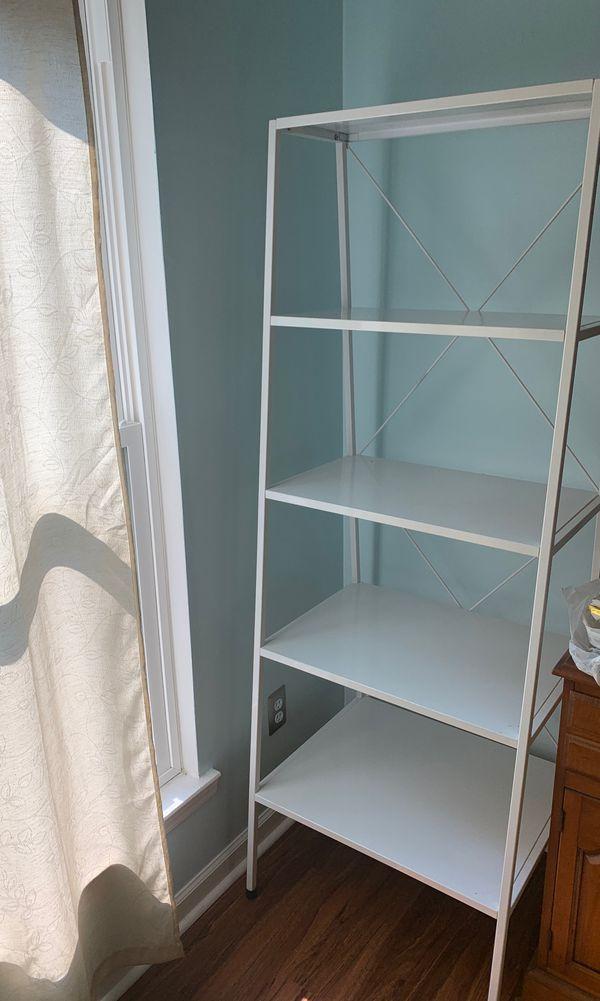 CB2 Hancock White Bookcase
