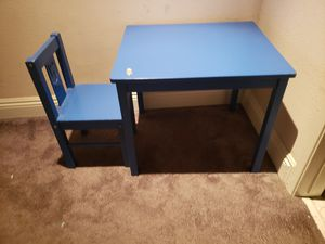 IKEA table with one chair for Sale in Pico Rivera, CA