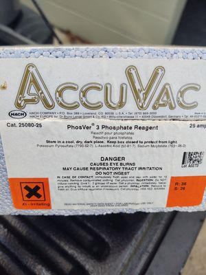 Phosphate reagent ampules - expired for Sale in Lakeland, FL