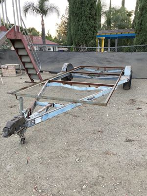 Boat trailer project. for Sale in Riverside, CA