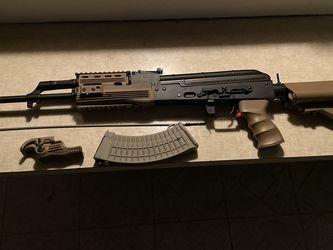 "Ak47 ""nerf""gun Semi And Auto for Sale in Fullerton,  CA"