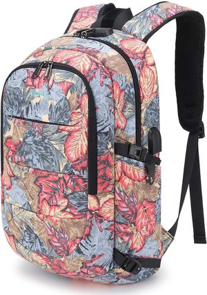 Brand New Girls Backpack Water Resistant Anti-Theft College Bag with USB Charging Port & Lock Women Business Hiking Luggage for Sale in Queens, NY