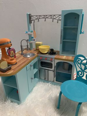 AMerican Girl Doll kitchen for Sale in Newton, MA