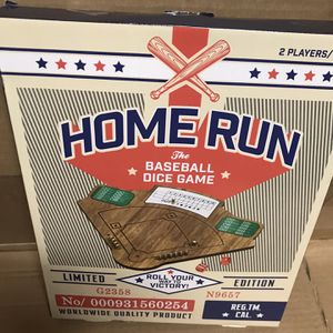 Limited Edition Home Run The Baseball Dice Game- Wooden - Hard To find for Sale in Las Vegas, NV