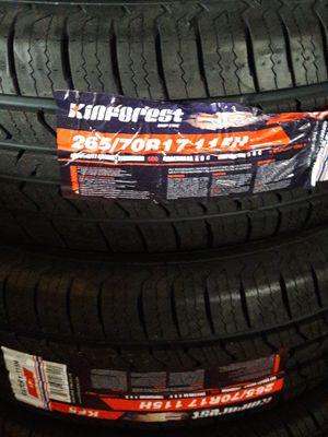 265 70 17 Kinforest tires for Sale in Santa Ana, CA