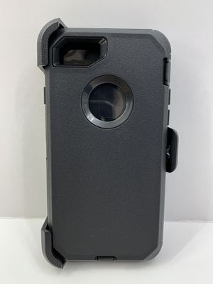 iPhone 6, 6s, 7, 8, 7 Plus, 8 Plus, X, Xs, Xr, Xs Max, 11, 11 Pro & 11 Pro Max Case Cover with Belt Clip. Black Color. Similar to OtterBox. for Sale in Norco, CA