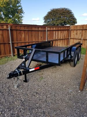 Trailer 5x10 Square Pipe Top and Brakes 2021 (Traila) for Sale in Wylie, TX