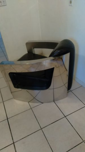 Custom chrome accented bomber chair for Sale in Hayward, CA