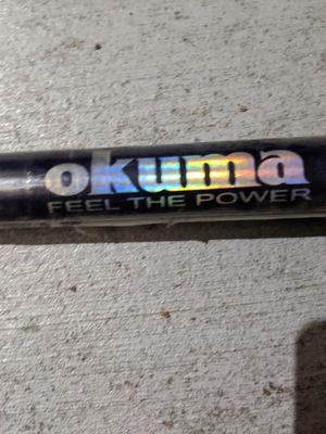 OKUMA 12ft fishing rod, With warranty for Sale in Arlington, TX