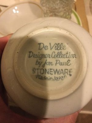 DeVille Designer Collection FOR Jon Paul STONEWARE for Sale in Columbia, MD