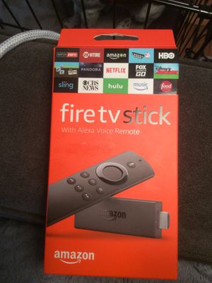Amazon Fire TV with Alexa Voice Remote (Second Generation) for Sale in Arlington, VA