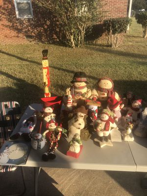Snowman collection for Sale in Hampton, VA
