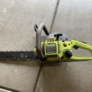 Poulan Chainsaw With Case for Sale in Elk Grove, CA