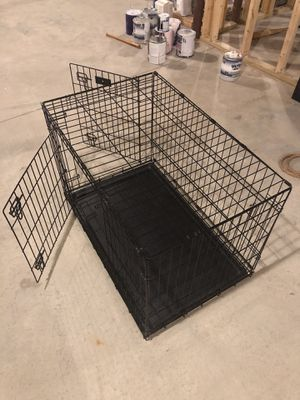 Large Collapsable Metal Dog Crate for Sale in Norfolk, MA