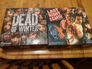 Last Night on Earth & Dead of Winter for Sale in Oregon, OH