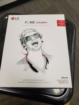 LG Tone Premium Wireless Bluetooth Quality Earbuds for Sale in Atlanta, GA