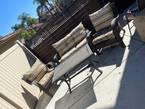 Free outdoor furniture. Well used and sun faded for Sale in San Diego, CA