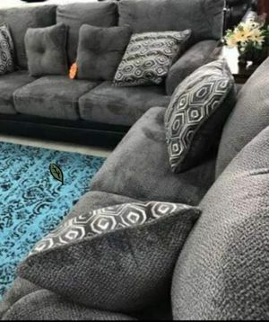 Free Delivery 🐋  BEST Deal 🐋 [SPECIAL] Millingar Smoke Living Room Set 172 for Sale in Houston, TX