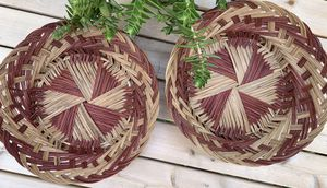 • vintage wicker bowl set • for Sale in Issaquah, WA