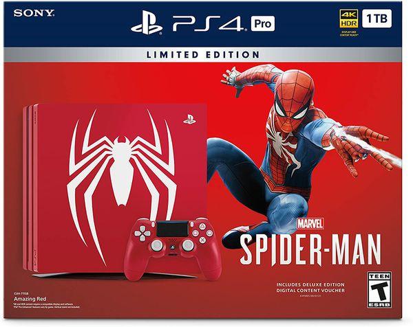 PlayStation 4 Pro Spider-Man Limited Edition 1TB