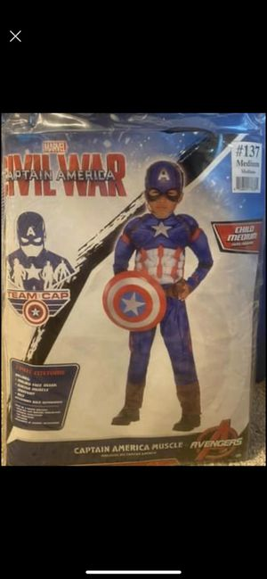 Captain America costume for Sale in Porter, TX