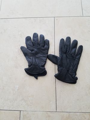 Leather gloves M for Sale in West Palm Beach, FL