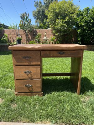 Antique Real Wood Desk for Sale in Santa Ana, CA