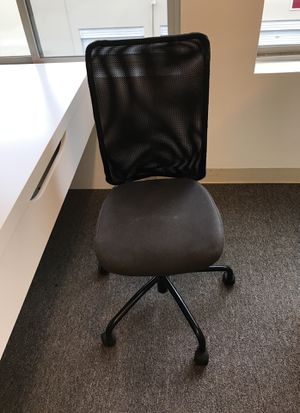 Swivel desk chair, black, in excellent condition. Only$15 In Renton Highlands. Call or text. {contact info removed} for Sale in Seattle, WA