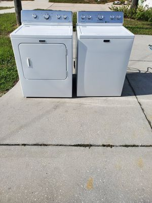 FREE DELIVERY!!Matching Maytag washer and dryer set for Sale in Spring Hill, FL