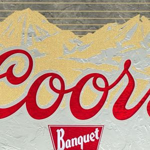 Coors Banquet Wall Mirror Make Me An Offer! for Sale in Williamsburg, MI