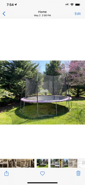 15' Trampoline for Sale in Mount Airy, MD
