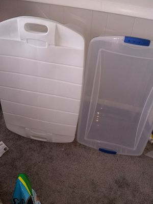 2 large storage bins for Sale in Alexandria, VA