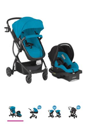 Urbini Omni 3 in 1 Travel System, Blue for Sale in The Bronx, NY