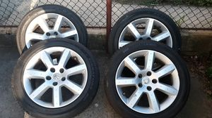 "Nissan 350z stock rims 17"" set of 4 for Sale in Yonkers, NY"