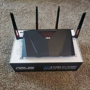 Asus AC3100 RT-AC88U Extreme WiFi Router for Sale in Brea, CA