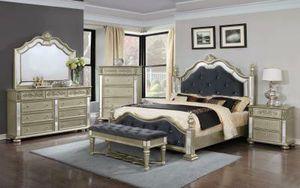 Great Buy! Brand new queen size luxurious bedroom set for Sale in Virginia Beach, VA